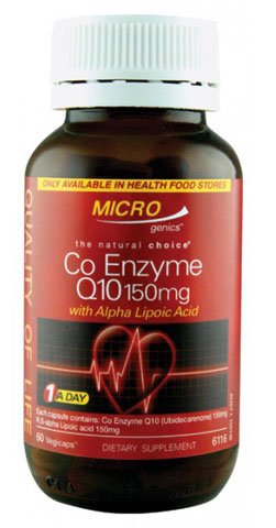 Microgenics Co Enzyme Q10 150mg
