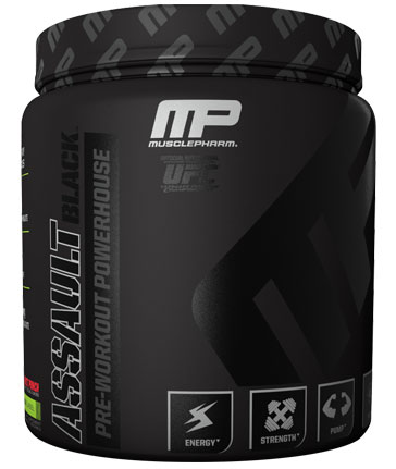 Muscle Pharm Assault Black