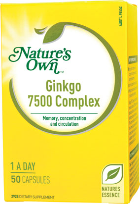 Nature's Own Ginkgo 7500 Complex