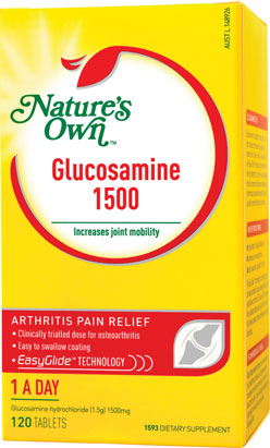 Nature's Own Glucosamine 1500