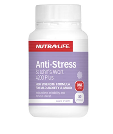 Nutra-Life Anti Stress St Johns Wort 4200 Plus