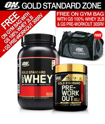 Optimum Nutrition Whey Gold Pre-Workout Stack