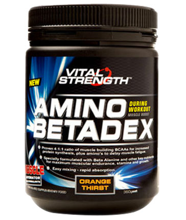 vs Amino Betadex Orange Thirst 360g
