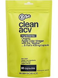 BSc Apple Cider Vinegar Capsules Organic
