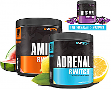 Switch Nutrition Adrenal Switch Plus Amino Switch Stack