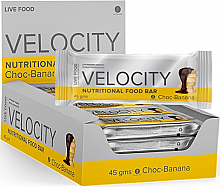 Velocity Bar (Choc Banana Flavour)