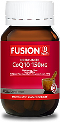 Fusion Health Bioenhanced CoQ10 150mg