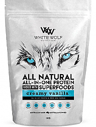 White Wolf All Natural All-In-One Protein