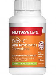 Nutra-Life Ester-C plus Probiotics