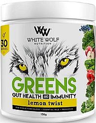White Wolf Greens Gut Health and Immunity