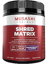 Musashi Shred Matrix
