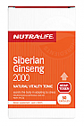 Nutra-Life Siberian Ginseng 2000