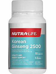 Nutra-Life Korean Ginseng 2500
