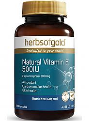 Herbs of Gold Natural Vitamin E 500IU