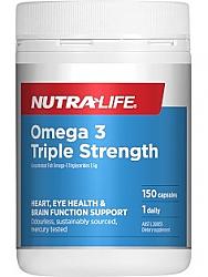 Nutra-Life Triple Strength Omega 3