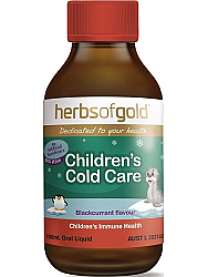 Herbs of Gold Childrens Cold Care