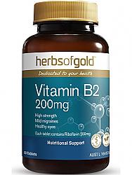 Herbs of Gold Vitamin B2 200mg