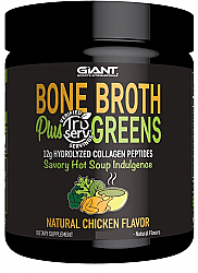 Giant Sports Bone Broth and Greens