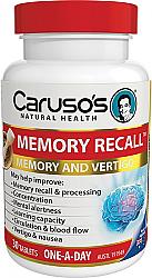 Caruso's Memory Recall