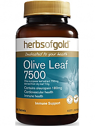 Herbs of Gold Olive Leaf Extract 7500