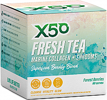 X50 Fresh Tea Marine Collagen + Shrooms