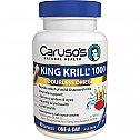Carusos Natural Health King Krill 1000mg