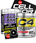 Cellucor Alpha Amino and C4 Gen 4 Stack