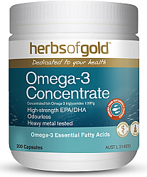 Herbs of Gold Omega 3 Concentrate