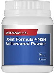 Nutra-Life MSM Glucosamine Chondroitin Joint Food Powder