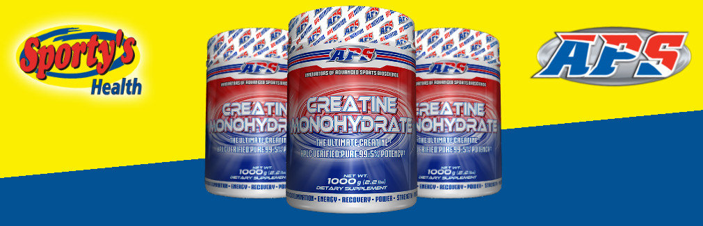APS Creatine Powder Banner