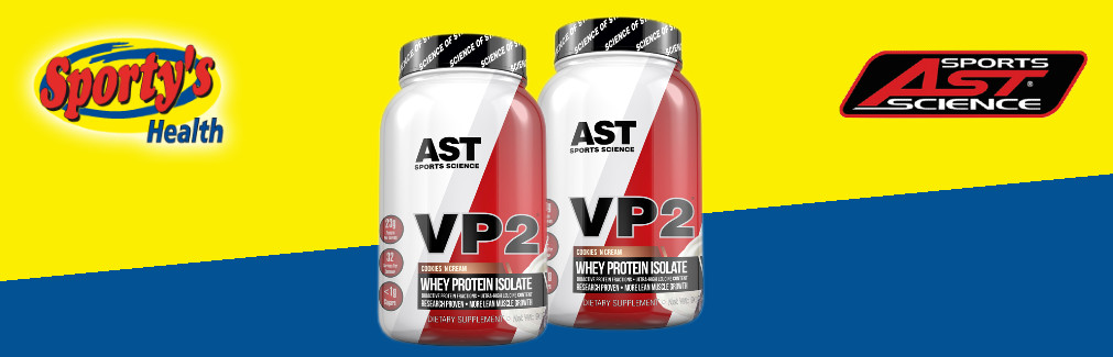 AST VP2 Protein Powder Review Banner