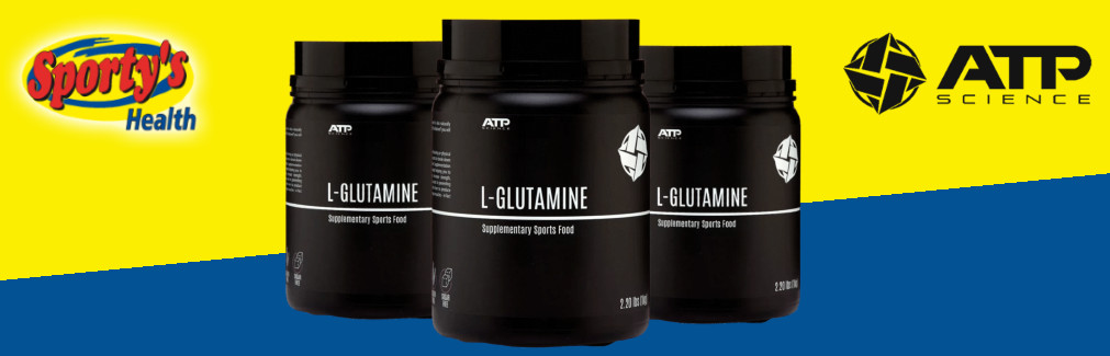 ATP Science Glutamine Powder Banner