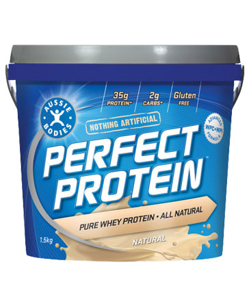 aussie bodies perfect protein vanilla