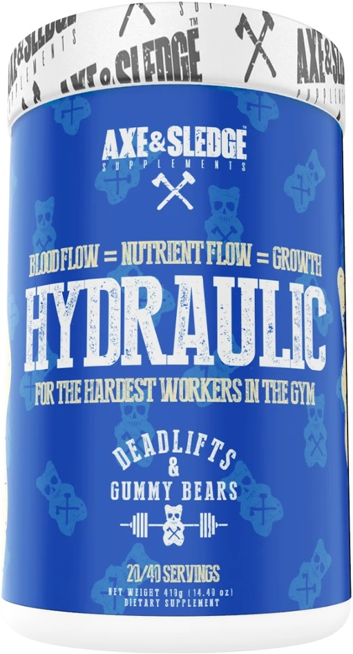 Hydraulic Pre Workout Blue