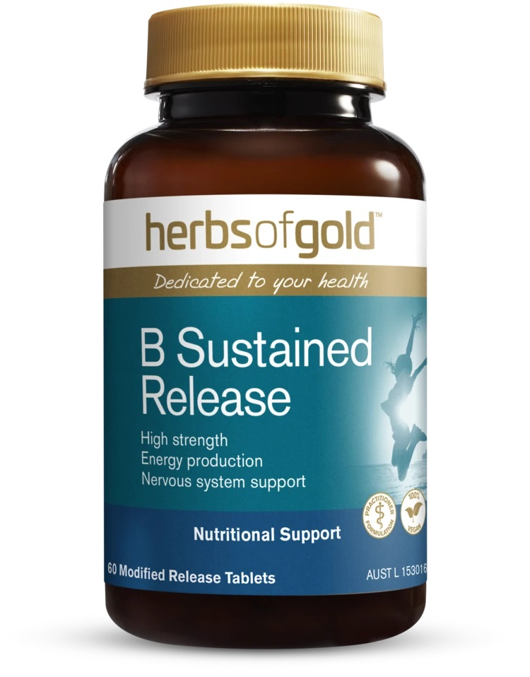 B Sustained Release Tablets