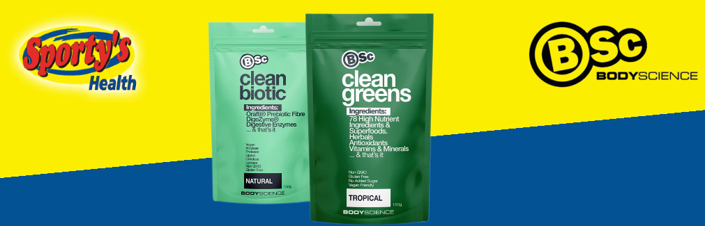 BSc Clean Greens Powder Image