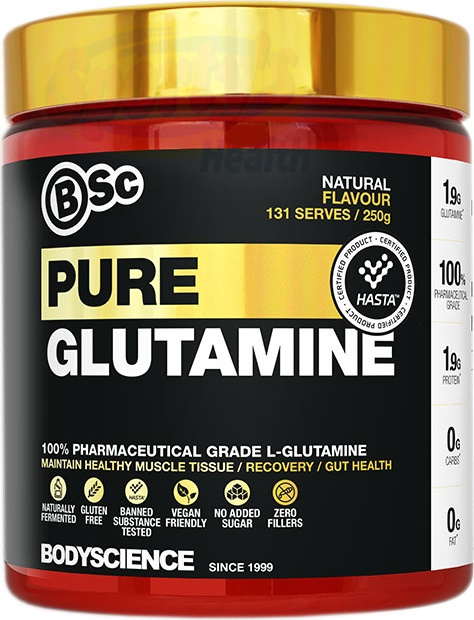 Pure L-Glutamine Powder from Body Science