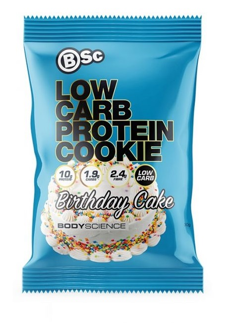 bsc protein cookie birthday cake flavour