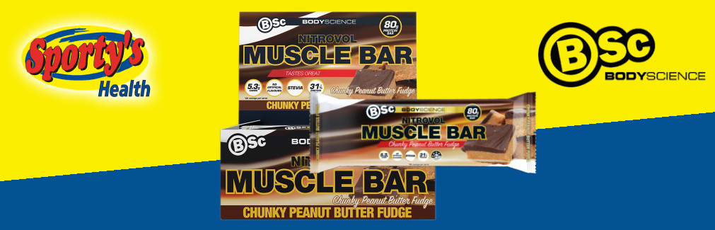 Body Science Nitrovol Muscle Bar