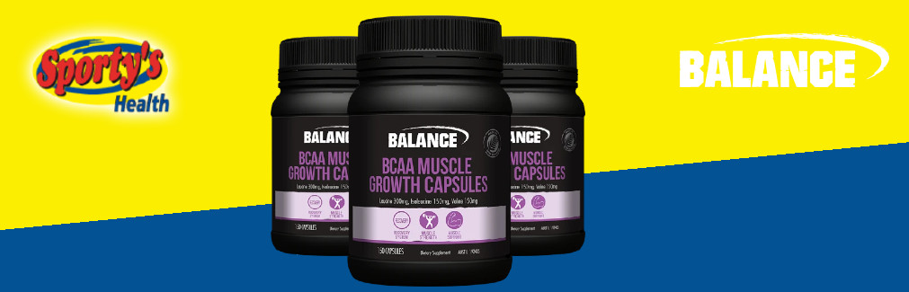 Balance BCAA Capsules Banner