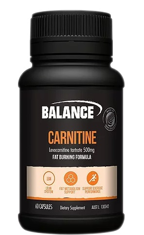balance carnitine supplement