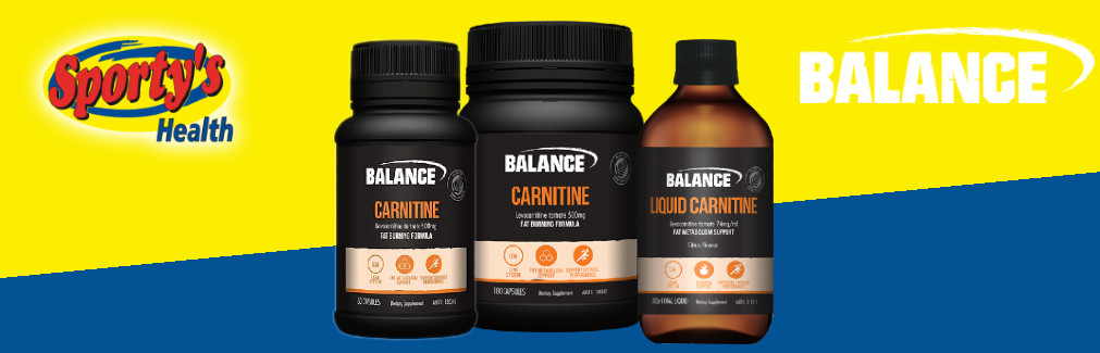 Balance Carnitine Capsules and Liquid Banner