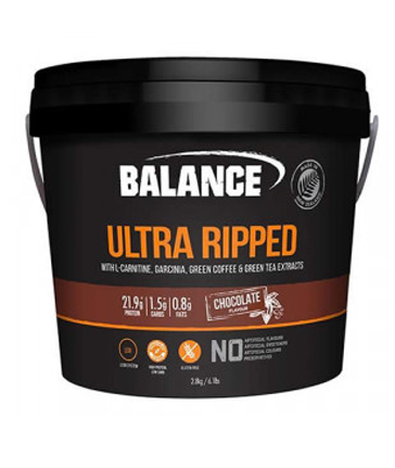 balance ultra ripped protein 2.8kg bucket