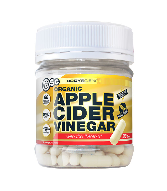 apple cider vinegar capsules bodyscience