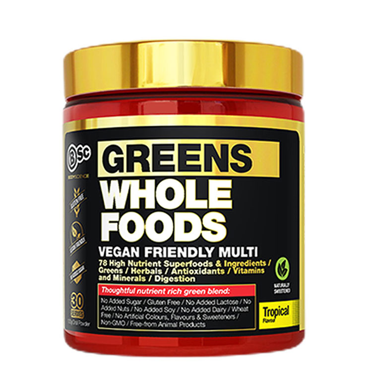 GREEN SWHOLE FOODS bodyscience