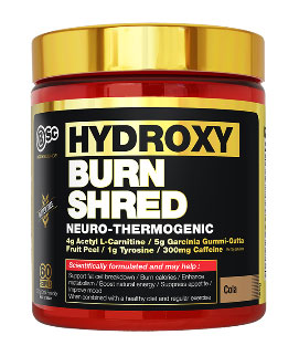 hydroxy burn shred cola