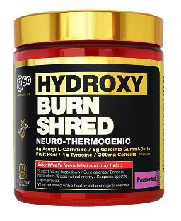 hydroxy burn shred passionfruit