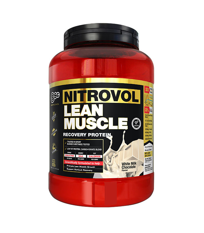 nitrovol lean muscle white chocolate