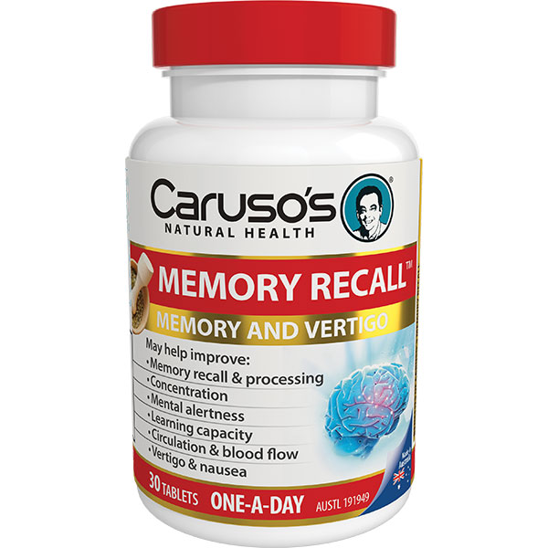 memory recall 30 tablets