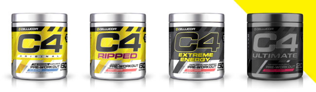 cellucor product range